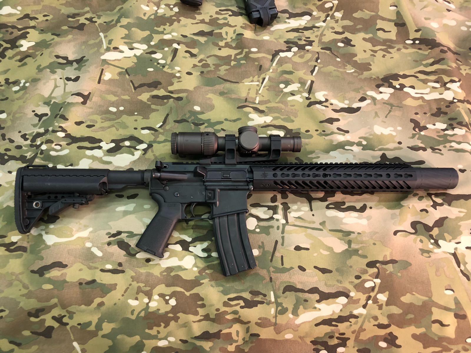 """The 16"""" Silentius Carbine"""